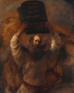 Moïse : le premier exemple d'ordonnancement réussi.