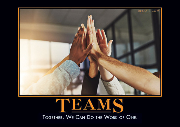 Team ! Team ! Team ! A-team !